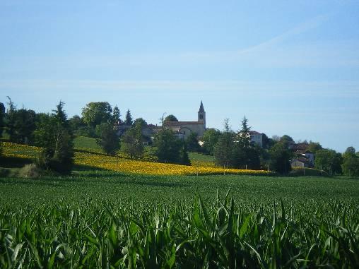 Village vu des chambres