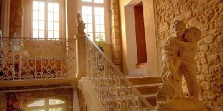 Château de Murviel Medieval wing Grand Stair