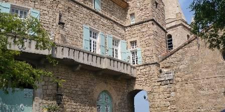 Château de Murviel South wing of the castle
