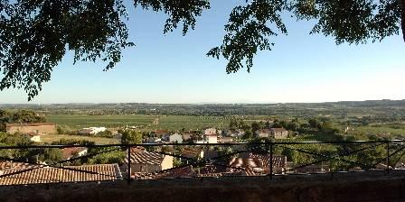Château de Murviel View from the terrasse