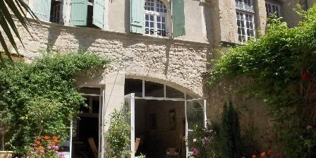 Château de Murviel Medieval wing from garden