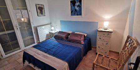 Chez Nicole et Roger La chambre bleu