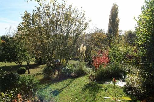 La Maréchalerie, côté jardin