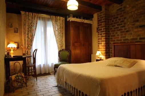 Chambre d'hote Indre-et-Loire - Chambre pour 2 personnes avec douche/wc