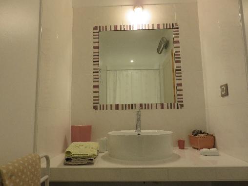 Salle de bains belle de nuit