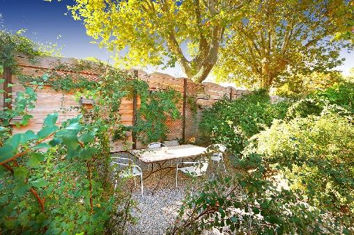 petit jardin extérieur chambres d'hôtes
