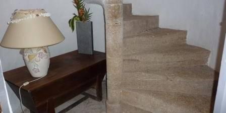 L'Orée du Pin Escalier à vis