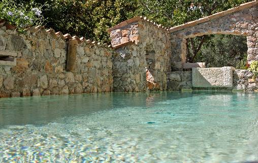 Bed & breakfasts Alpes Maritimes, from 140 €/Nuit. House/Villa, Chateauneuf Villevieille (06390 Alpes Maritimes), Charm, Guest Table, Swimming Pool, Sauna, Garden, 3 Double Bedroom(s), 1 Suite(s), Chimeney, Blue Card, Mountain Vi...