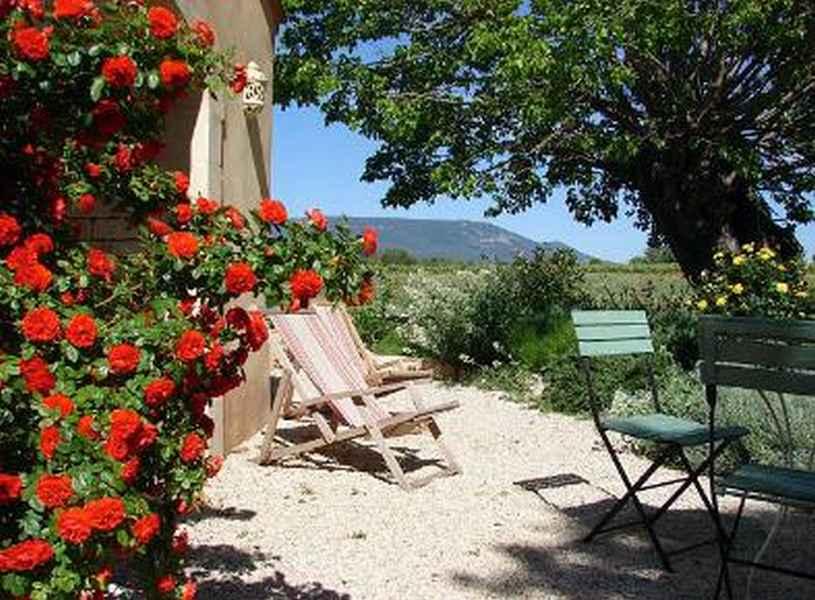 Chambre d'hote Vaucluse - La terrasse