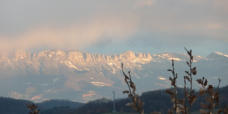 Le Petit Chantuzet View from the house : the VERCORS