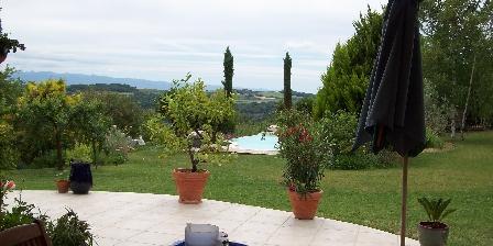 Chambre d'hotes Le Petit Chantuzet > Depuis la terrasse