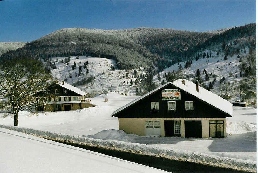 Chambre d'hote Vosges - Les chambres d'Hôtes en hiver