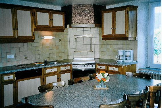 Chambre d'hote Vosges - La cuisine pour gîte