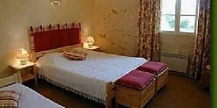Moulin de Pommarède La chambre d'hôtes Rouge
