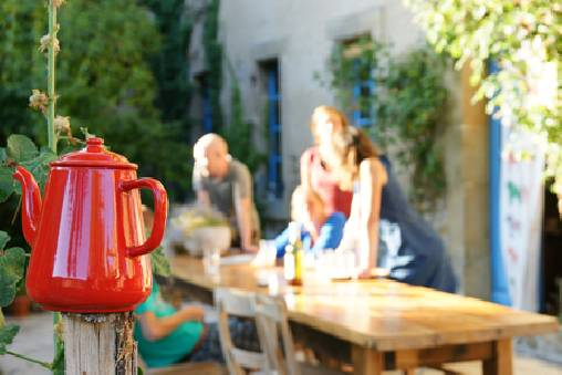 bed & breakfast Aude - The garden