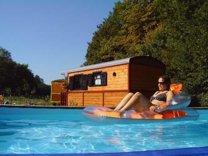 Chambre d'hote Nièvre - La piscine