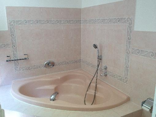 Salle de bain de la chambre des Roses
