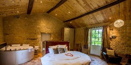 Le Château de l'Abbaye Suite Luxe avec jacuzzi