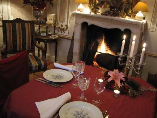 Chambre d'hote Vendée - Dîner aux chandelles, produits frais