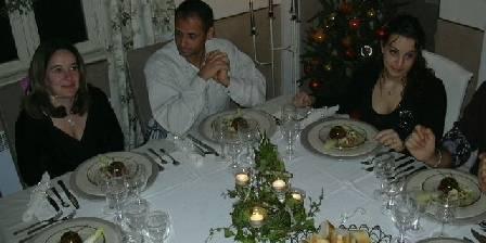 La Ribeyrette Table d'hôte reveillon Nouvel An 2006