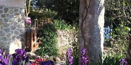 Lou Rigaou La terrasse privative de la chambre d'hôtes