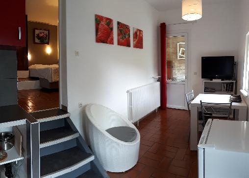 bed & breakfast Alpes de Haute Provence - sejour salon