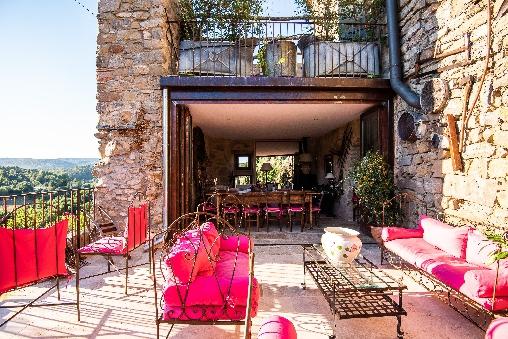Chambre d'hote Aude - un des petits jardins