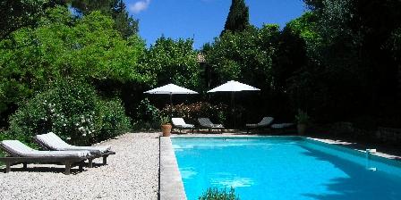 La Maison de Rocbaron La piscine
