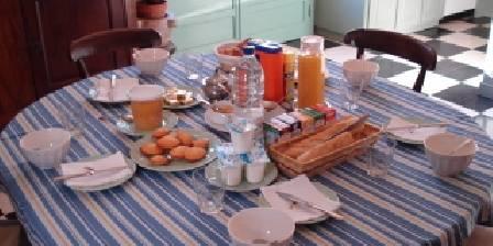 Villa Saint Germain Petit déjeuner