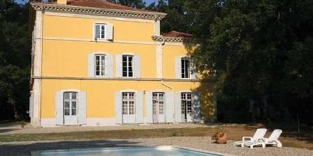 Château Saint Romain La piscine