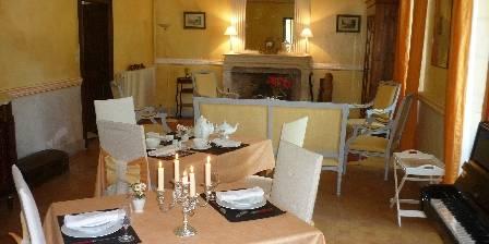 Château Saint Romain Le salon du petit déjeuner