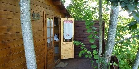 Bed and breakfast Sojapi > cabane de l ' écureuil > Click here to enlarge photo