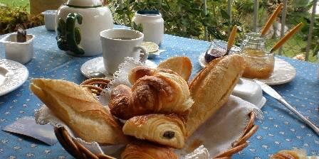 Gîte Vanille T1  Petit-déjeuner