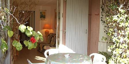 Location de vacances Studio Castelmau > terrasse