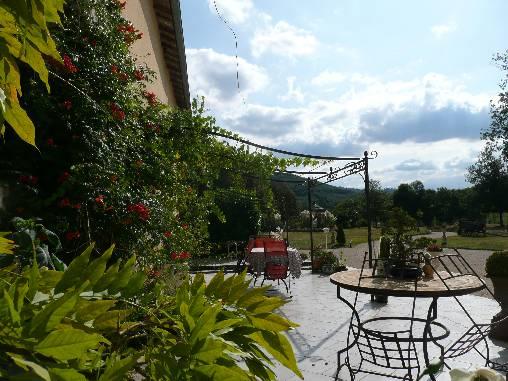 Chambre d'hote Ariège - Terrasse