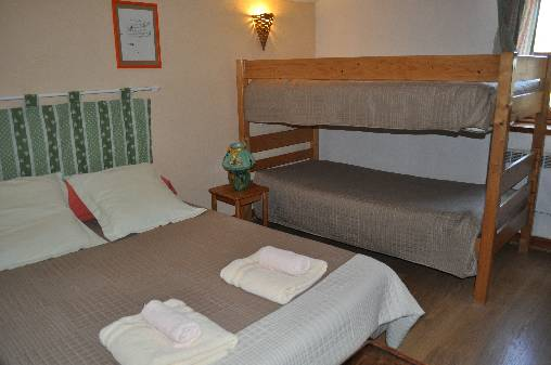 Chambre d'hote Vaucluse - Chambre Ventoux 4 places