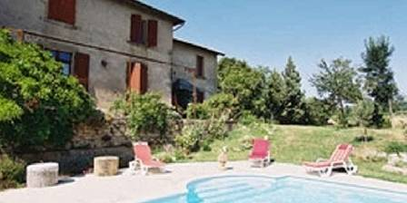 La Veyrardière La maison et la piscine