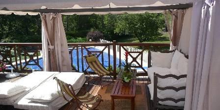 Villa Victoria Tonnelle d'été sur terrasse bois