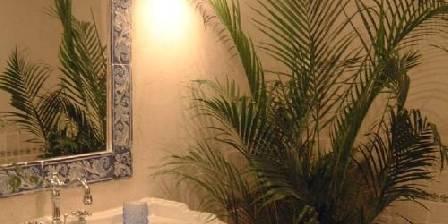 Mas de Vigueirat Salle de bain de la suite les Baux