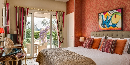 Villa Cedria Chambre Rouge