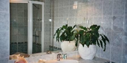 Villa du Petit Port La salle de bain