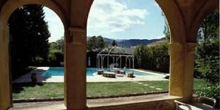 Villa Lafabrègue Chambre Palmier vue de la terrasse