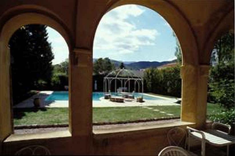 Chambre Palmier vue de la terrasse