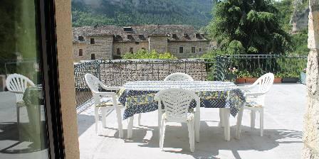 Villa le Vignot Terrasse de l'appart Le Vignot