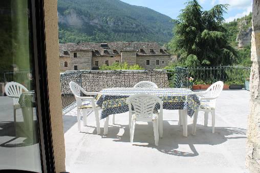 terrasse de l'appart Le Vignot