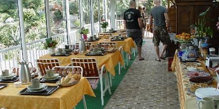 Villa Tricoli Terrasse Breakfast
