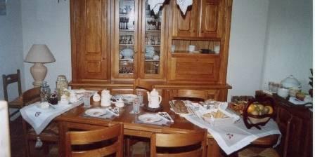 Les Bateliers Salle petits déjeuners